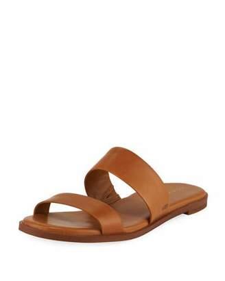Cole Haan Findra Grand Leather Flat Slide Sandal