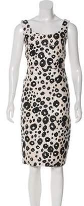 Max Mara Leopard Printed Dress multicolor Leopard Printed Dress