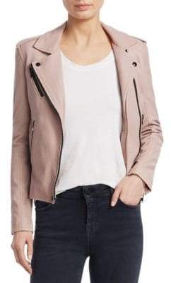 IRO Newhan Leather Jacket