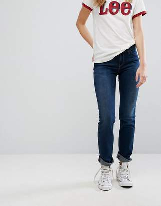 Lee Marion Straight Low Rise Jeans