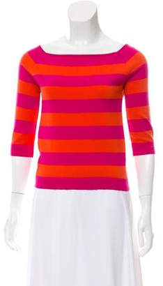 Celine Striped Wool-Blend Sweater