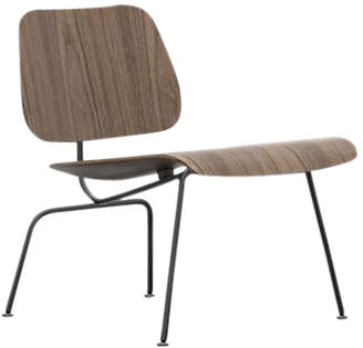 Vitra Plywood Group LCM Chair, Black/Walnut