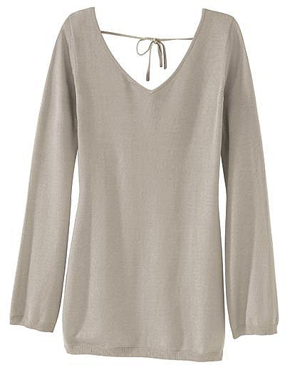 Signature Silk-Blend Reversible Tunic