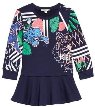 Kenzo Multi Iconics Sweatshirt Dress