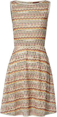 Missoni A-Line Lame Knit Dress