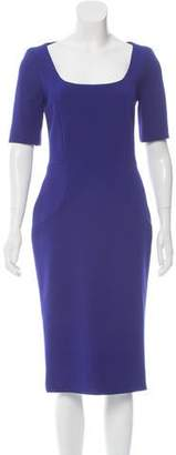 Victoria Beckham Short Sleeve Sheath Dress w/ Tags