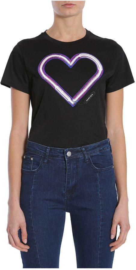 CarvenRound Collar T-shirt