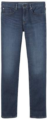 Banana Republic Slim Traveler Blue Ink Wash Jean