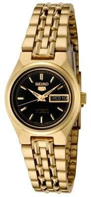 Seiko Women's SYMA06K 5 Automatic Dial Gold-Tone Stainless Steel Watch