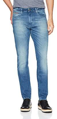 Tommy Hilfiger Tommy Jeans Men's Original Steve Slim Athletic Fit Jeans with Skinny Ankle
