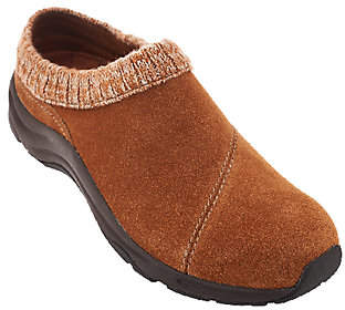 Vionic Water-Resistant Clogs with KnitCollar - Arbor
