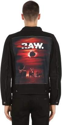 D-Staq Eclipse Printed Denim Jacket