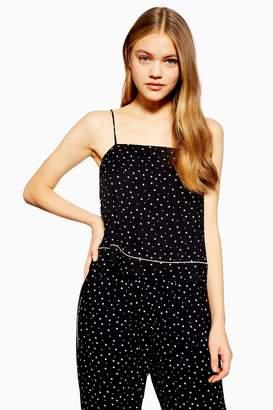 Topshop Star Print Camisole Pyjama Top