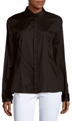 HUGO BOSS Cotton-Blend Shirt