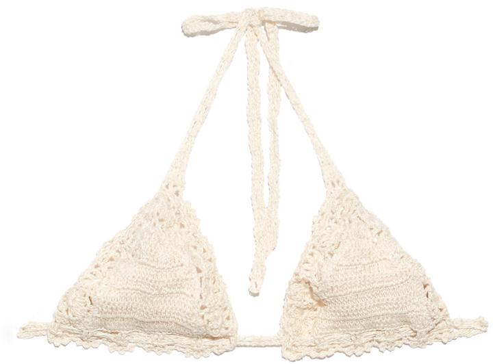 ANNA KOSTUROVA Bella crochet bikini top