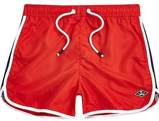 River Island Boys Red runner swim shorts