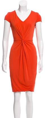 Max Mara Short Sleeve Knee-Length Dress