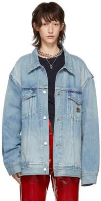 Ambush Blue Denim Oversized Nobo Jacket
