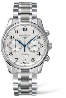 Longines Master Collection Two-Tonal Stainless Steel Automatic Bracelet Watch