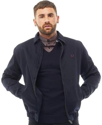Fred Perry Mens Caban Jacket Navy