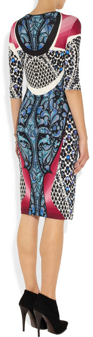Peter Pilotto Isabel printed stretch-jersey crepe dress