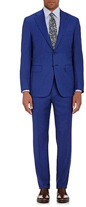 Canali Men's Capri Two-Button Suit-Navy $2,595 thestylecure.com