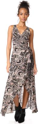 Cleobella Henna Wrap Dress $231 thestylecure.com