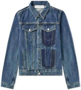J.W.Anderson Shaded Pocket Detail Denim Jacket