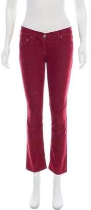 Etoile Isabel Marant Mid-Rise Corduroy Jeans