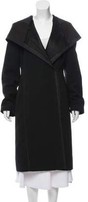 J. Mendel Hooded Deconstructed Coat