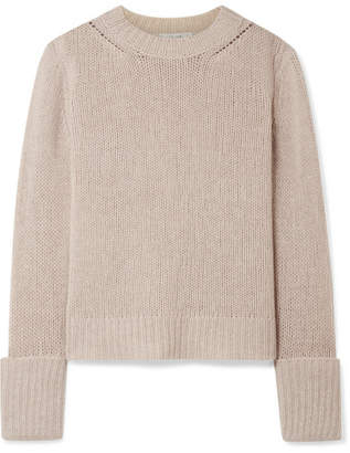 The Row Gibet Cashmere Sweater - Beige