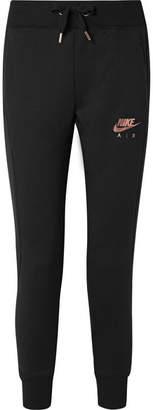 Nike Jersey Track Pants - Black