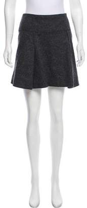 Vince Wool Mini Skirt