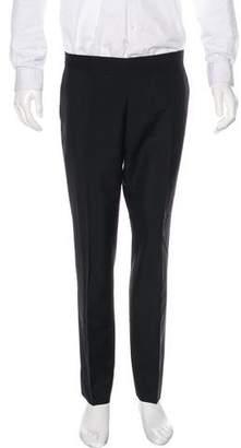 Burberry Wool & Mohair Dress Pants