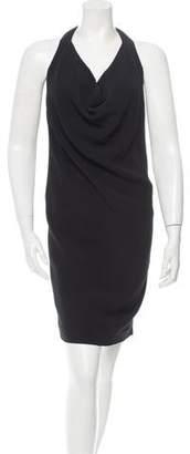 Celine Sleeveless Cowl Neck Dress w/ Tags