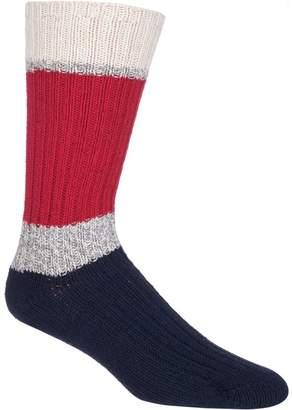 Woolrich 60 Needle Camp Striped Sock - Men's