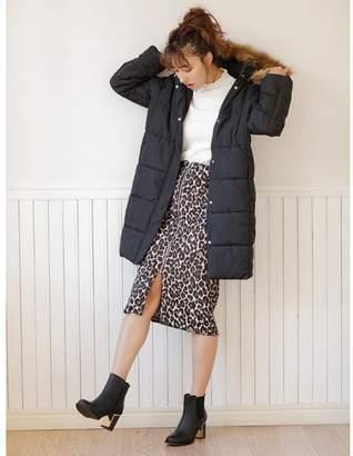 INGNI (イング) - INGNI レオパード柄ジップナロー/スカート