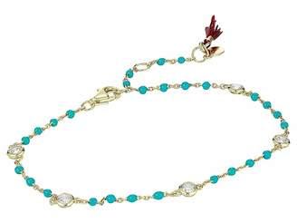 Shashi Solitaire Multi Cord Bracelet