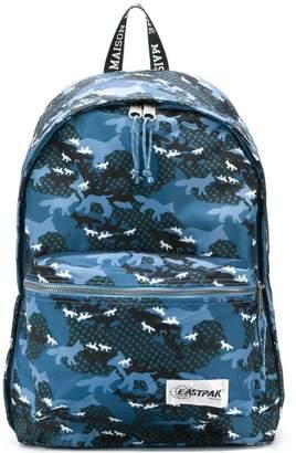 MAISON KITSUNÉ x Eastpak printed backpack