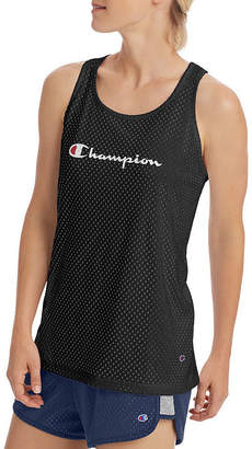 3ee5fd04e21bf Champion Womens Scoop Neck Sleeveless Tank Top