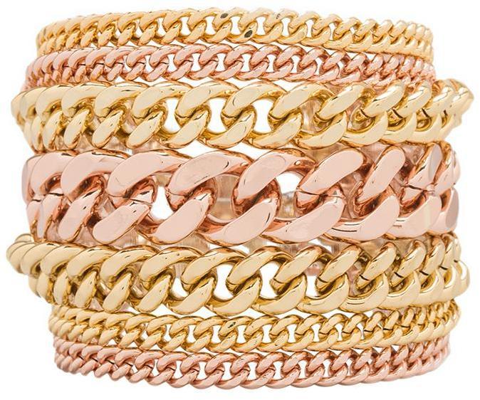Giles & Brother Multi Chain Bracelet
