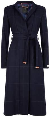Ted Baker Samntha Checked Trench Coat