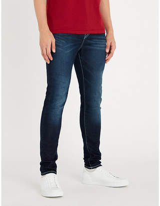 True Religion Jack Runner skinny-fit tapered jeans