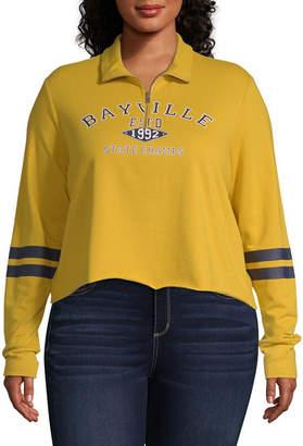 Cut And Paste Bayville Varsity Pullover - Juniors Plu