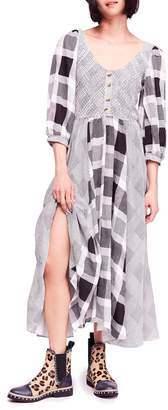 Free People Old Friends Cotton Blend Maxi Dress
