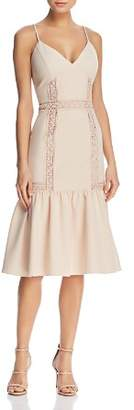 Nanette Lepore nanette Lace-Inset Dress