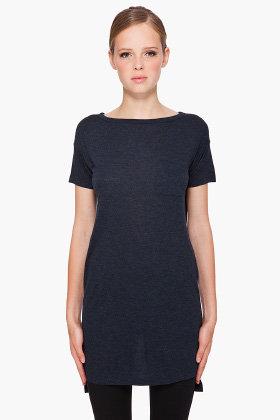 T BY ALEXANDER WANG Short Sleeve Long T-Shirt
