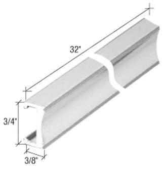 Co Gordon Glass Gordon Glass Chrome Aluminum Towel Bar - 32 in long