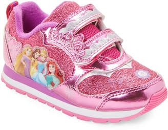 Disney Princess (Toddler Girls) Pink Glitter Character Light-Up Sneakers