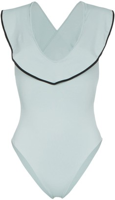 Marysia Swim Sedona Maillot ruffle detail swimsuit